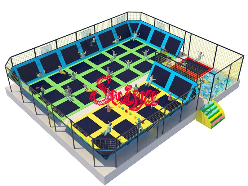 Small Size Trampoline Park