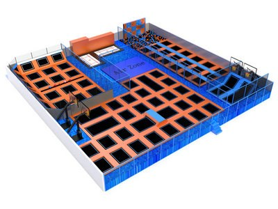 Jump Nation Trampoline Park Manufacturer