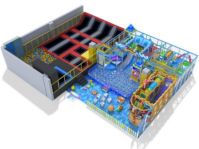 Professional TUV approved trampoline park